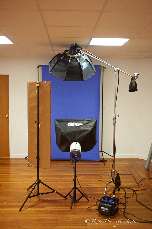 Clamshell Lighting For The Corporate Portrait